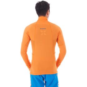 Mammut Moench Advanced T-shirt manches longues avec demi-zip Homme, sunrise